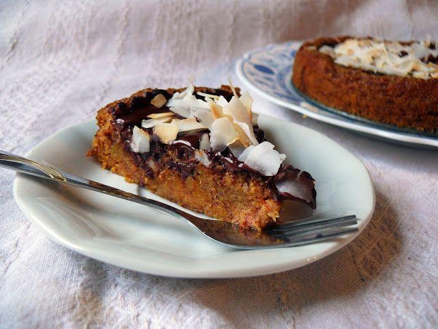 Vöröskaktusz diétázik: Sütőtökös banános süti (paleo, vegán)