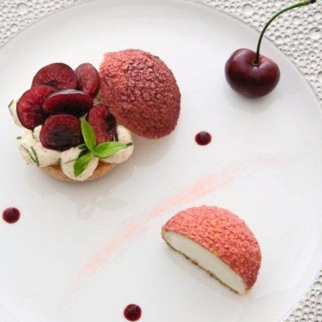 """Choux à la Crème Verveine, jubilé de Cerises  Éric Briffard  #market #vegetable #vegetale #vegan #organic #experience #creation #fooding #food  #luxury #table #ericbriffard #chef #cook #mof #michelin #fashion #cooking #consulting #gaultmillau #kitchen #gastronomy #love #paris #lesgrandestablesdumonde #gourmet #locavore #enjoying #japan  #mof #paris #instafood"" Photo taken by @eric_briffard on Instagram, pinned via the InstaPin iOS App! http://www.instapinapp.com (05/29/2015)"