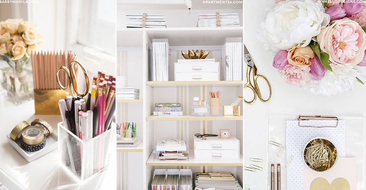 8 Small Changes for a Stylish Office Update | sheerluxe.com