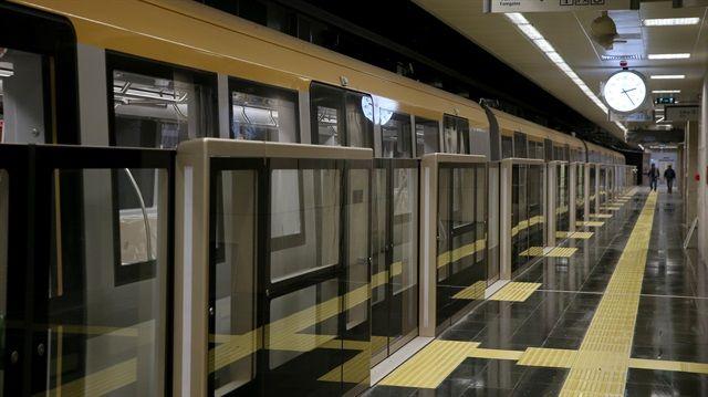 Sürücüsüz metronun açılış tarihi belli oldu