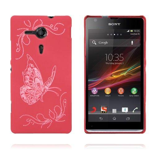 Joy (Rød) Sony Xperia SP Deksel