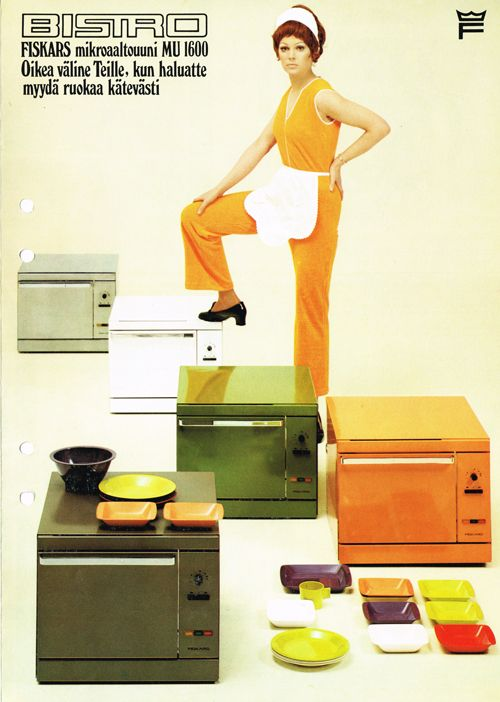 Did you know that Fiskars used to make orange microwaves?