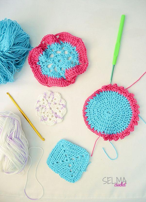Aneka Coaster - Selma's Crochet