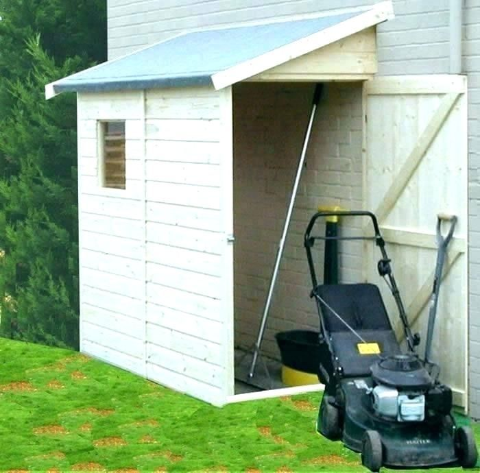 Latest Outdoor Lawn Mower Storage Ideas Diy Shed Plans Outside