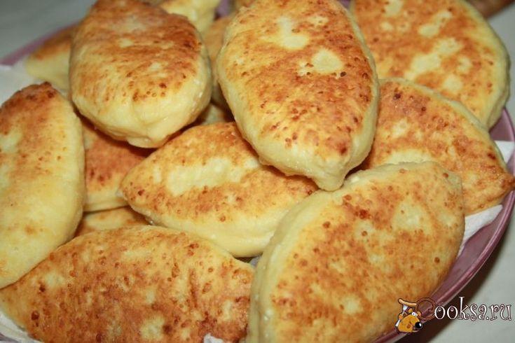 Шаг№8 - Творожные пирожки с рубленой курицей готовы.