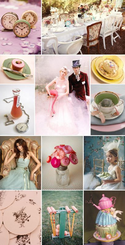 alice-in-wonderland-vintage-wedding-lg - Photo de Inspiration mariage Rétro/Vintage - Soo Nice Events
