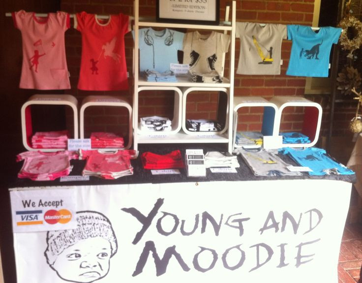 One of our market stall setups. We love getting out there and selling direct to the people!