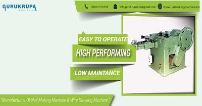 Nail Making Machine: Wire Nail Machine | Wire Nali Machine In Rajkot-In...