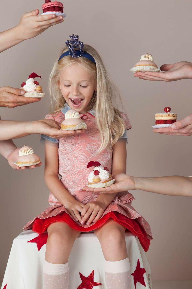 Leuk idee voor het lentefeest of de communie van je kind - maak een communiekrant met originele 'foodpictures'