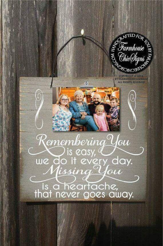 Remembering you Memory Board