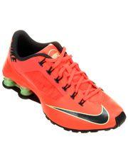 Tênis Nike Shox Superfly R4 - Laranja+Preto
