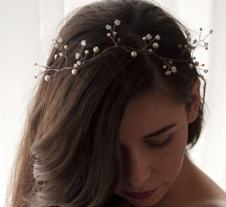 bijoux cheveux mariage perle. Black Bedroom Furniture Sets. Home Design Ideas