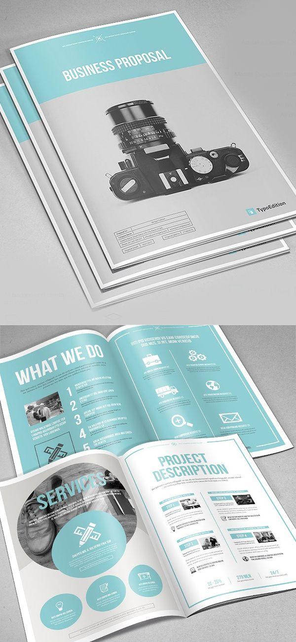 Professional Business Proposal Templates Design 21
