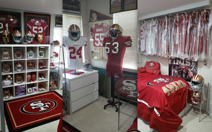 Best 49ers Fan Caves From Around The World 49ers 49ers Fans House Fan