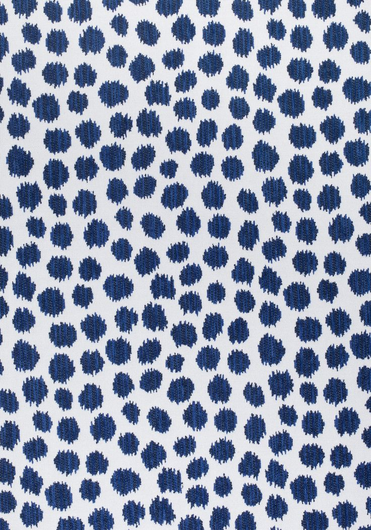 SARAH SPOT, Navy, W80343, Collection Calypso from Thibaut ...