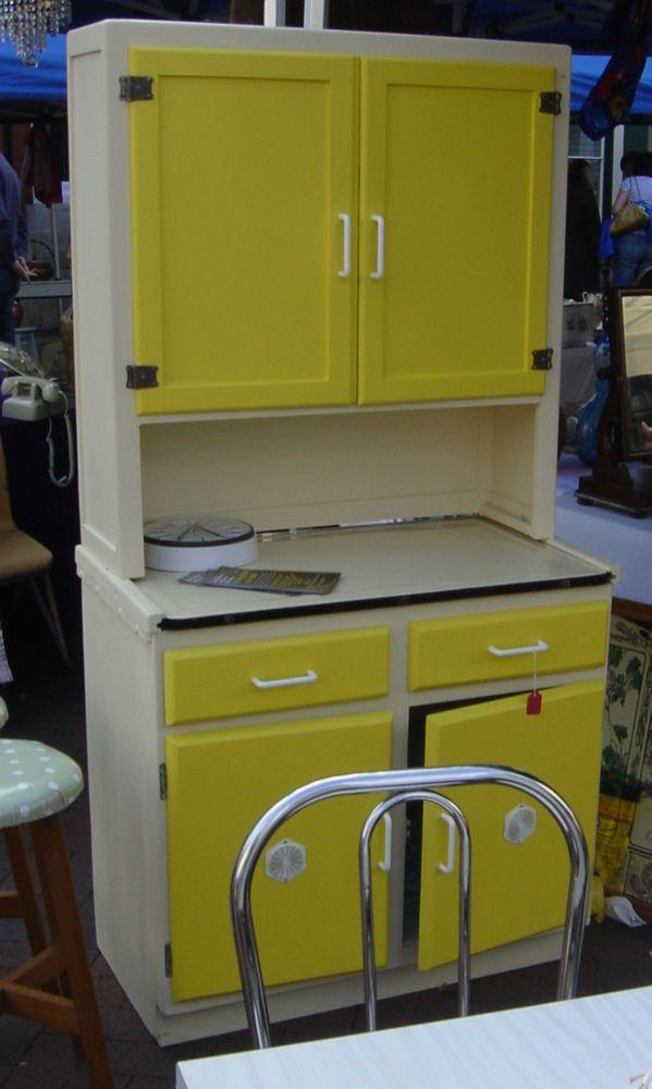 Retro Kitchen Larder/Storage Unit in Home, Furniture & DIY, Furniture, Cabinets & Cupboards   eBay