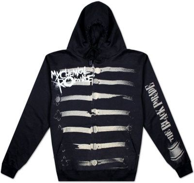 Buy Zip Hoodie: My Chemical Romance - Together We March T-Shirt
