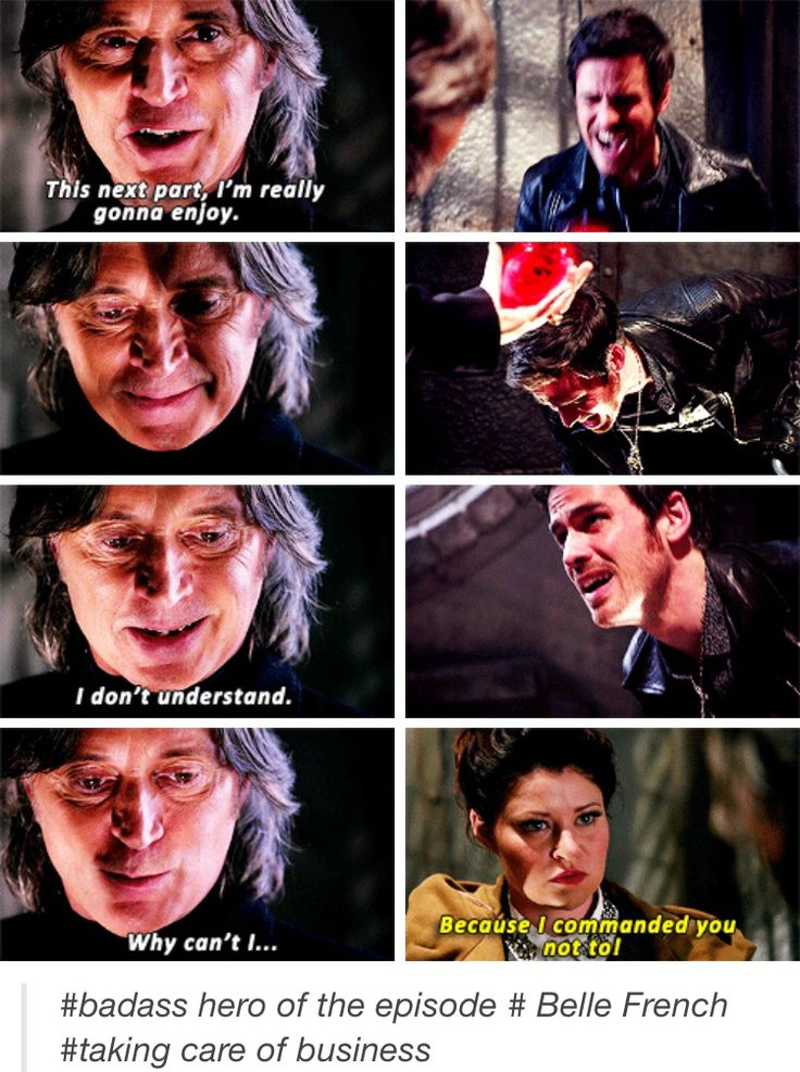 Hook was saved by the Belle! Post by A-world-of-our-own on tumblr.