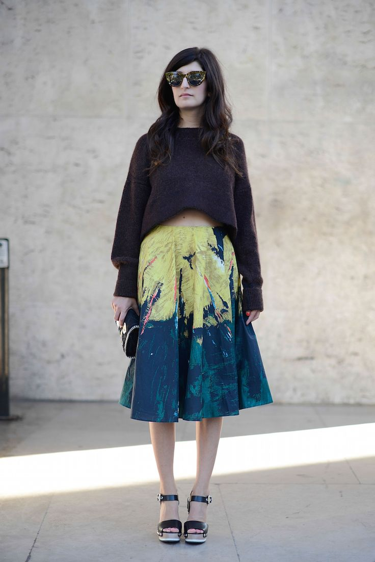 Street Style - Paris Fashion Week, Womenswear S/S 2015 : September 27th