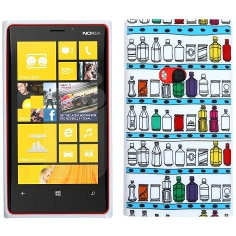 MYBAT Candy Skin TPU Case for Nokia Lumia 920 - Cabine