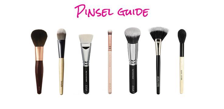 Was ist ein Buffing Brush? Und was ist ein Fan Brush? Wir erklären, welche Make-up Pinsel für welche Aufgabe da sind. Ein Make-up Pinsel Guide.