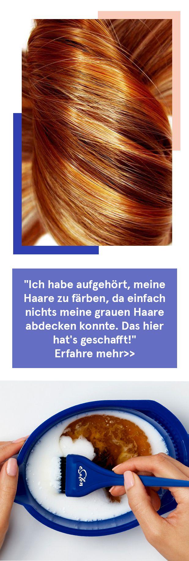 """Die einfache Lösung, graues Haar zu färben: """"Ich liebe es … es hat mir eine …  # Coole dinge"""
