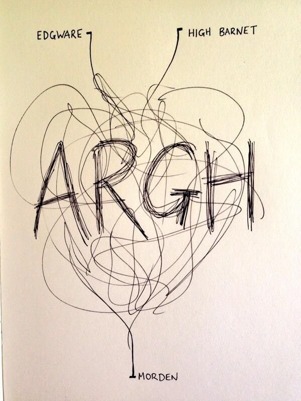Here's A More Accurate Map Of The Northern Line
