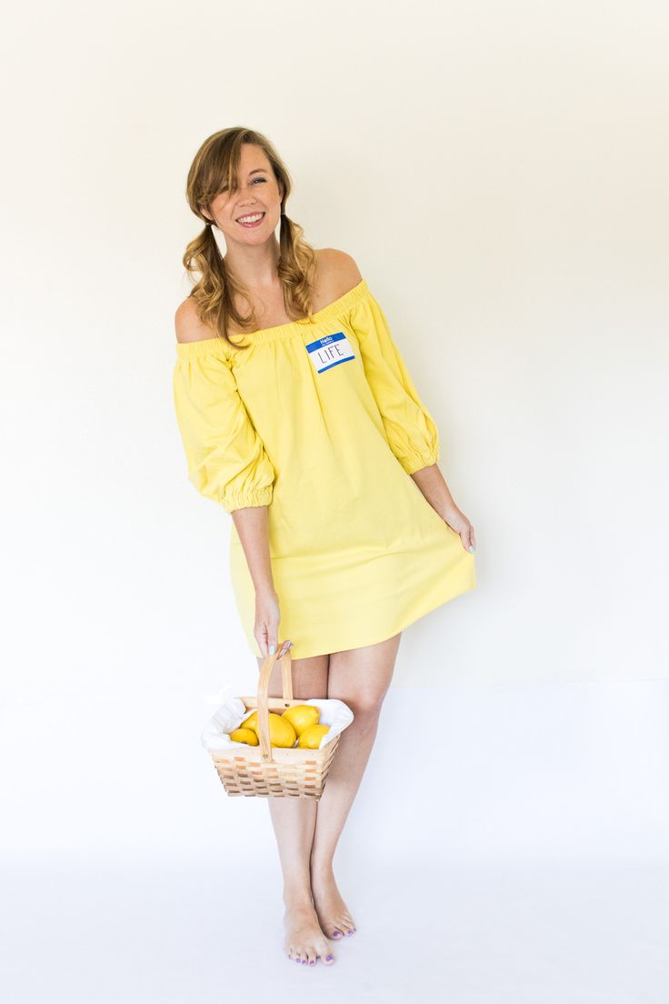 """""""When Life Gives You Lemons"""" Halloween Costume [+ 4 Last-Minute Idiom Halloween Costumes]"""