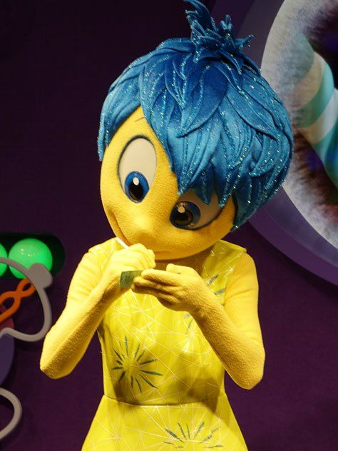 How to meet Joy and Sadness from Inside Out at Epcot in Disney World