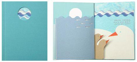Blue to Blue by Katsumi Komagata