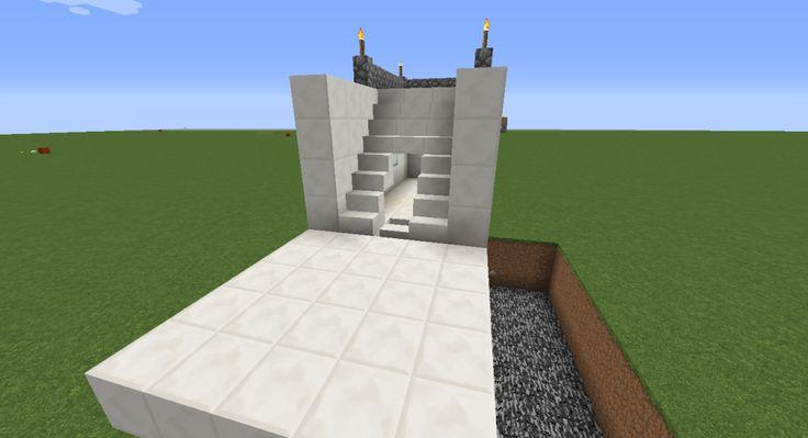 Staircase Secret Door, Part 1 Piston Extenders Secret