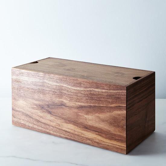 A breader, sorry, better bread box. #bread #box #handmade #food52 #gift #guide