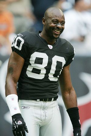 Jerry Rice in a Raiders uniform only because 49ers couldn't pay him what he was worth