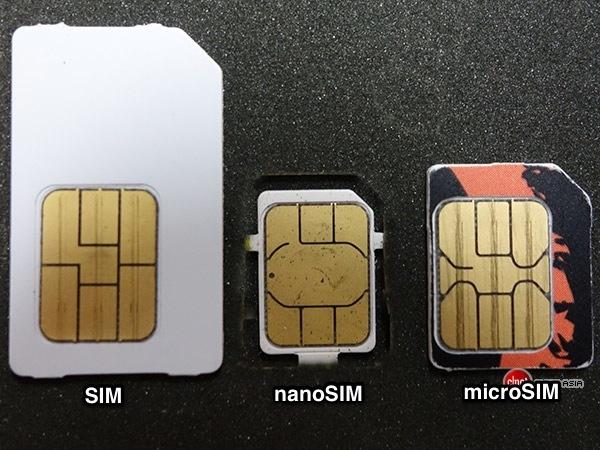 Как сделать nanoSIM и microSIM из обычной SIM-карты