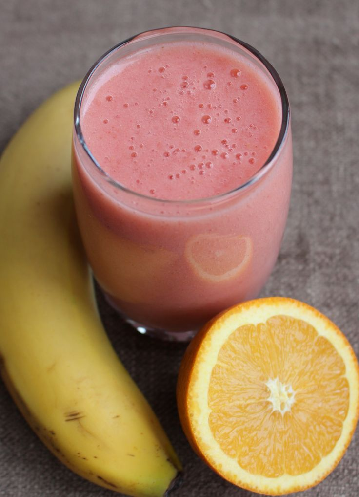 The Pink Orange Smoothie