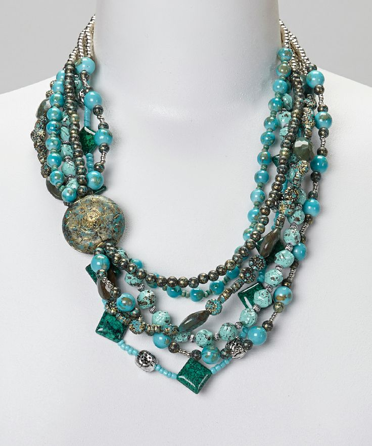 turquoise multi nkc amrita necklace product singh bayside shop jewelry strand