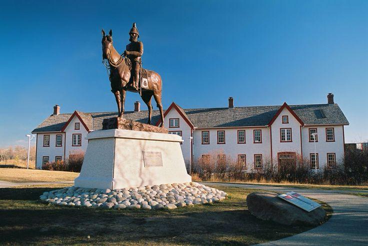 Image from http://www.balboabash.ca/wp-content/uploads/2012/08/fort_calgary_statue.jpg.