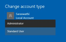 change-as-administrator-and-standard-account-in-windows10