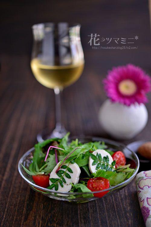 鶏ハム木の芽のサラダ - ChickenHam and Kinome Salad