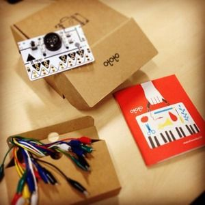 Build a piano out of vegetables, make a plant sing or create a keyboard from aluminium foil. Connect anything conductive to Ototo using alligator clips and turn your touch into sound – the world is your musical oyster!
