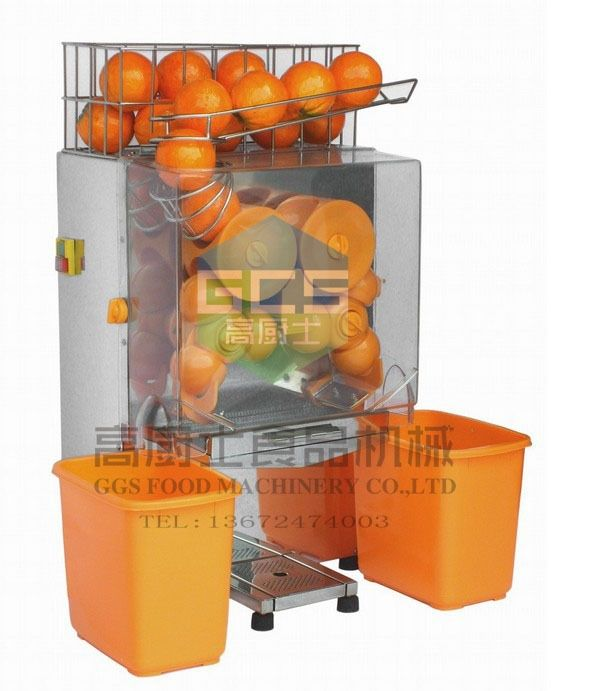 980.00$  Watch here - http://ali2ci.worldwells.pw/go.php?t=32369825678 - Free shipping Commercial use orange juicer Automatic fruit juicer extractor orange squeezer