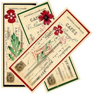 Friday freebie - Carnation bookmark