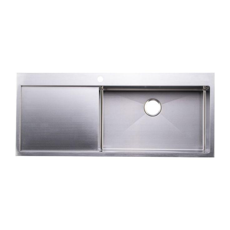 73 Best Handmade Kitchen Sinks Images On Pinterest  Handmade Inspiration Kitchen Sinks With Drainboards Design Decoration