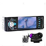 2015 New 12V Car Stereo FM Radio MP3 Audio Player Support Bluetooth Phone with USB/SD MMC Port Car Electronics In-Dash 1 DIN 2017 - $33.12