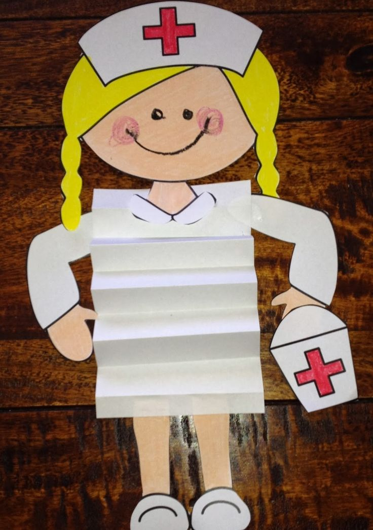 Nurse Crafts For Preschool Funnycrafts Nurse Craft