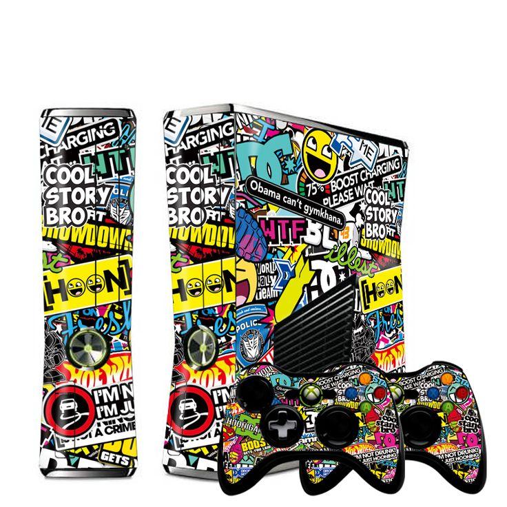 $7.51 (Buy here: https://alitems.com/g/1e8d114494ebda23ff8b16525dc3e8/?i=5&ulp=https%3A%2F%2Fwww.aliexpress.com%2Fitem%2FNEW-Bombing-Vinyl-Decal-Skin-Sticker-for-Microsoft-Xbox-360-slim-and-2-controller-skins-sticker%2F32218413496.html ) NEW Bombing Vinyl Decal Skin Sticker for Microsoft Xbox 360 slim and 2 controller skins sticker  bomb  for x box 360 xb3177 for just $7.51