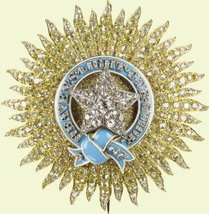 The Most Exalted Order of the Star of India is an order of chivalry founded by Queen Victoria in 1861.