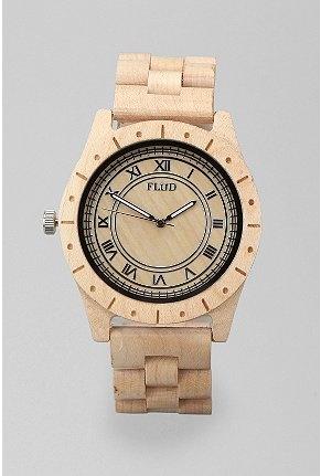 Big Ben style wooden watch. Love it