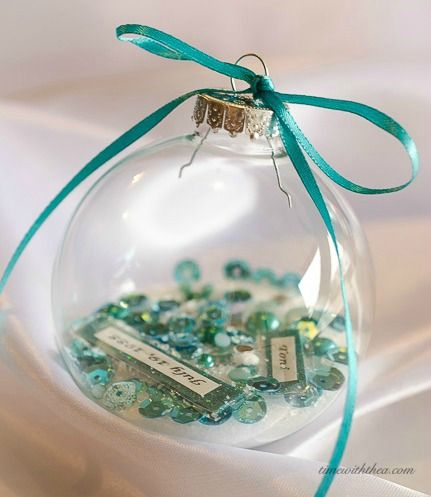 Blog post at Time With Thea : Personalized Clear Glass Christmas Ornament Gift ~ Personalized Clear Glass Christmas Ornament Gift ~ Tips, ideas and instructions for how [..]