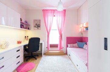 Little girls room transformation - contemporary - Kids - Goldfish-Interiors